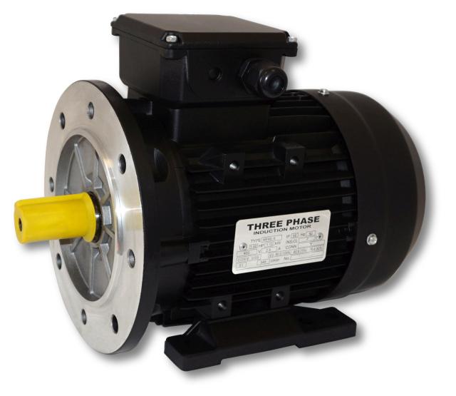SM 5,5kW; 3000 rpm; B3/B5