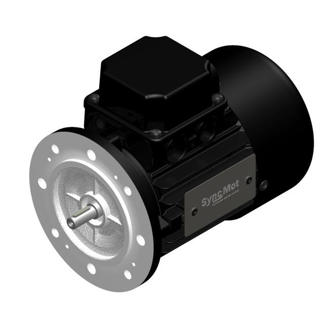 SM 0.37kW; 3000 rpm; IEC50 B5