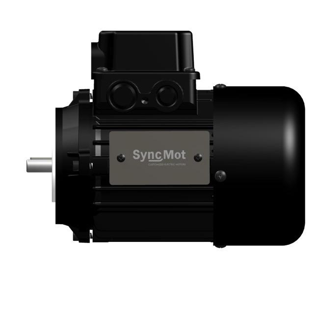 SM 1,1kW; 3000 rpm; IEC56 B14