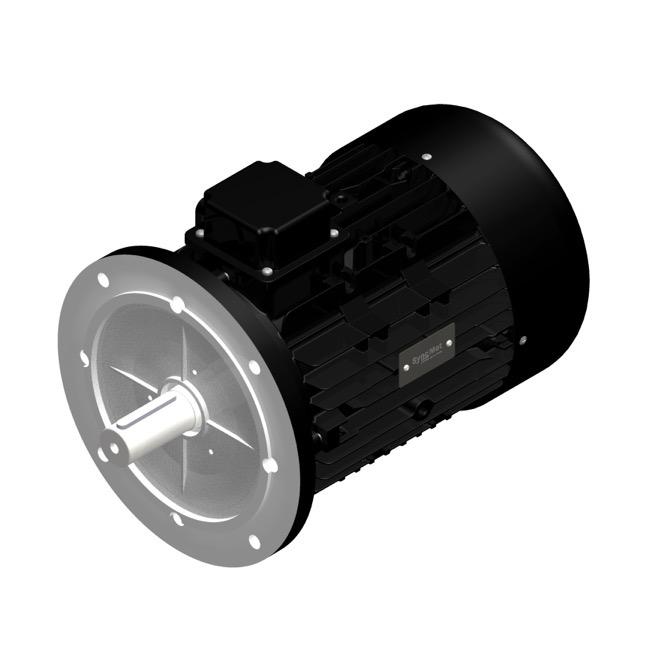 SM 45kW; 1500 rpm; IEC132 B5