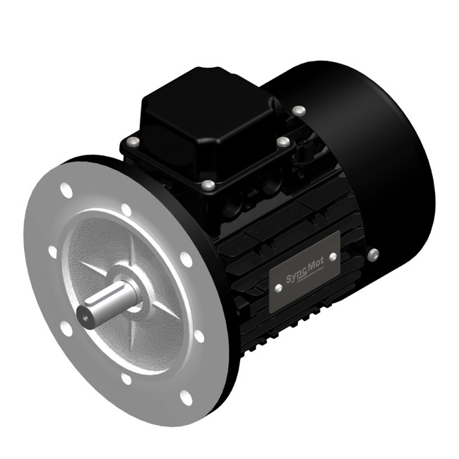 SM 4kW; 3000 rpm; IEC80 B5