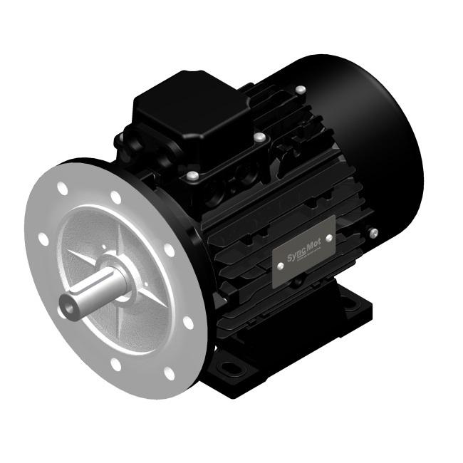 SM 4kW; 3000 rpm; IEC90 B35